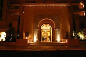 Hôtel al Hambra Hammamet Tunisie entrée