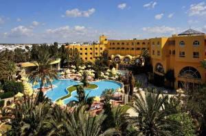 hôtel Chichkhan Hammamet Vue piscine